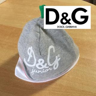 ドルチェアンドガッバーナ(DOLCE&GABBANA)のD &G  ドルチェ&ガッパーナ  ベビー帽子(帽子)