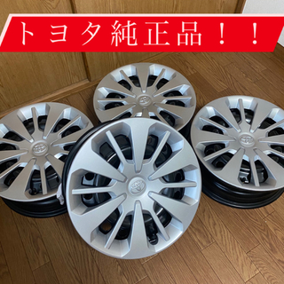 トヨタ(トヨタ)のトヨタ パッソ MODA  ホイール&ホイールキャップ 純正品 新品未使用(ホイール)