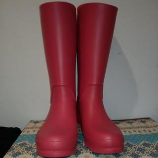 クロックス(crocs)のクロックス レインブーツ ピンク(レインブーツ/長靴)