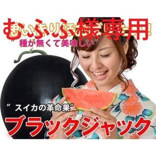 むふふ様専用  ②最高級・最高品質のスイカ【ブラックジャック】(フルーツ)