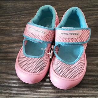 mikihouse - ミキハウス ウォーターシューズ 19cm 新品未使用 ピンク 靴