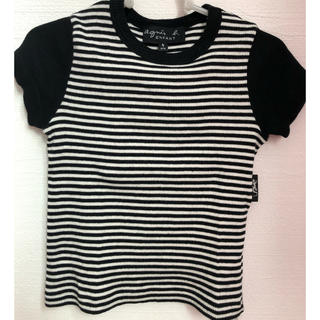アニエスベー(agnes b.)のアニエスb リブTシャツ(Tシャツ/カットソー)