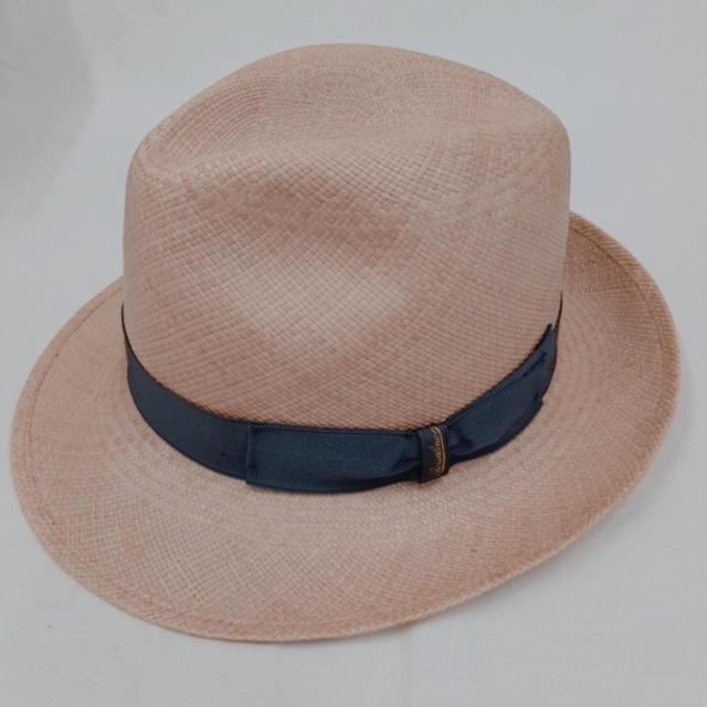 Borsalino(ボルサリーノ)のBorsalino ボルサリーノ 麦わら パナマハット 中折れ 帽子 新品未使用 メンズの帽子(ハット)の商品写真