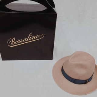 Borsalino - Borsalino ボルサリーノ 麦わら パナマハット 中折れ 帽子 新品未使用