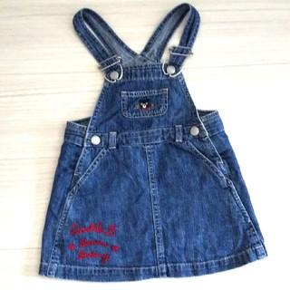 ダブルビー(DOUBLE.B)のDOUBLE B ジャンパースカート90(スカート)
