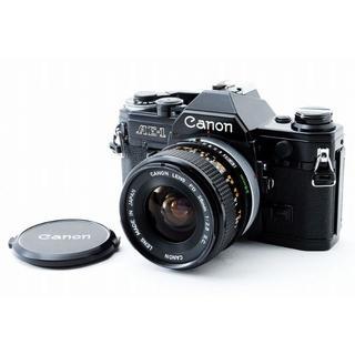 キヤノン(Canon)の★ フィルムカメラ Canon AE-1 + FD 28mm F2.8 SC 黒(フィルムカメラ)