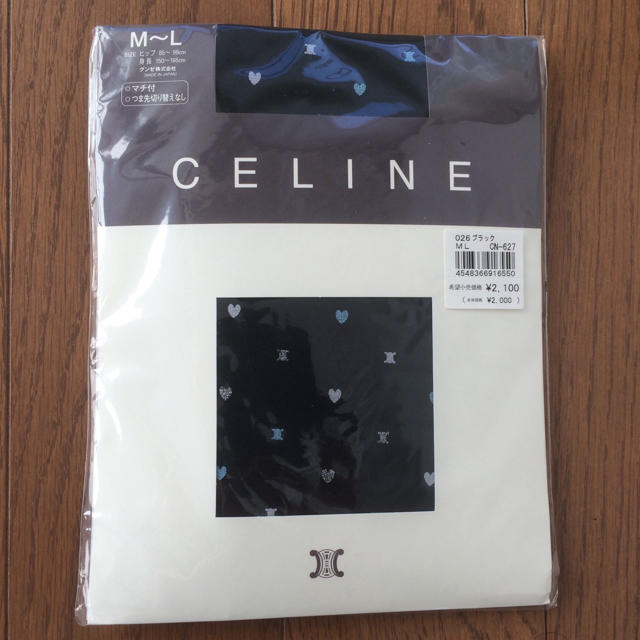celine(セリーヌ)の【新品未使用】セリーヌ ストッキング レディースのレッグウェア(タイツ/ストッキング)の商品写真