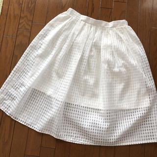 ブージュルード(Bou Jeloud)のスカート bou jeloud  M 美品(ひざ丈スカート)