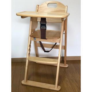 カトージ(KATOJI)のKATOJI木製ハイチェア ステップ切り替え(その他)