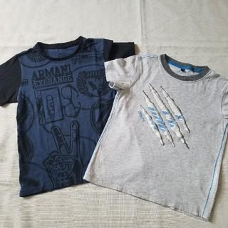 アルマーニ ジュニア(ARMANI JUNIOR)のアルマーニジュニア エクスチェンジジュニア Tシャツ6 2枚セット(Tシャツ/カットソー)