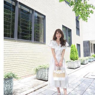 チェスティ(Chesty)の☆タグ付き 未使用☆chesty 刺繍セットアップ(ひざ丈ワンピース)