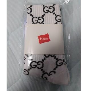 グッチ(Gucci)のimran potato socks 新品(ソックス)