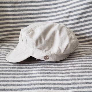 キッズズー(kid's zoo)のKid's zoo 帽子 46cm(帽子)