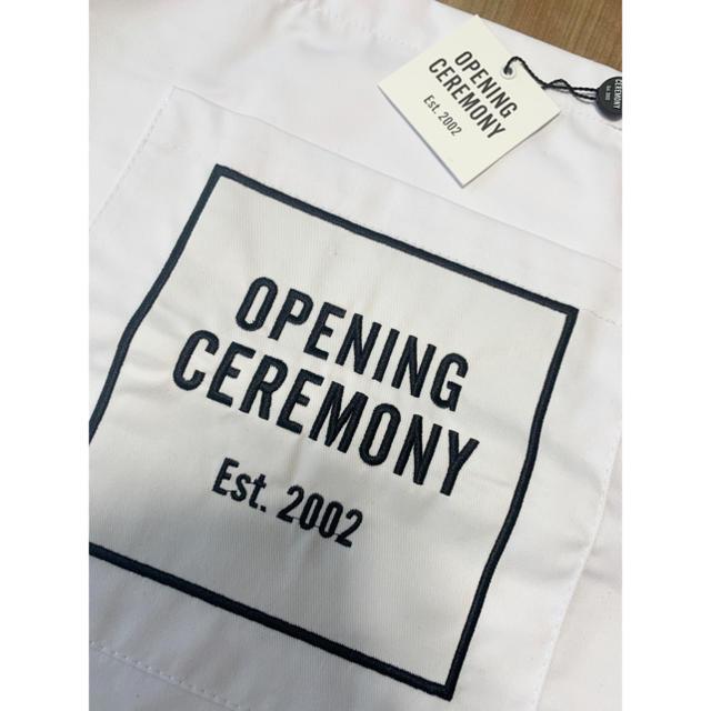 OPENING CEREMONY(オープニングセレモニー)のオープニングセレモニー LOGOトート White レディースのバッグ(トートバッグ)の商品写真
