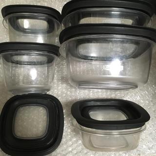 アムウェイ(Amway)のラバーメイド 保存容器 5点セット(容器)