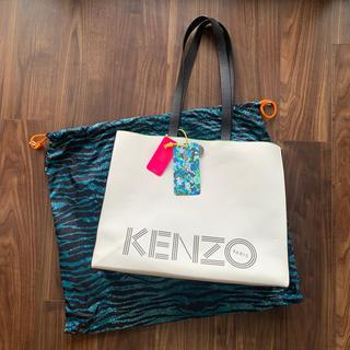 エイチアンドエム(H&M)のケンゾ H&M KENZO コラボ 本革バッグ カバン(トートバッグ)