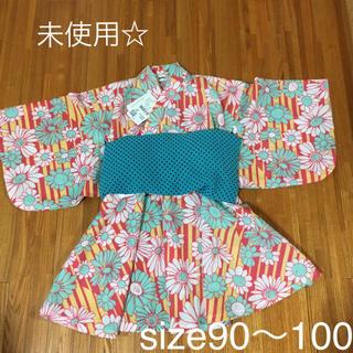 MPS - MPS 浴衣 ワンピース S 90〜100cm