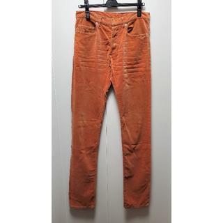 ディオールオム(DIOR HOMME)の2005AW ディオールオム コーデュロイ パンツ オレンジ 30(その他)