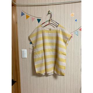 サマンサモスモス(SM2)のボーダーシャツ♡(Tシャツ(半袖/袖なし))