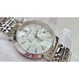 BURBERRY - BURBERRY バーバリー クロノ  男性用 クオーツ腕時計 B2482メ