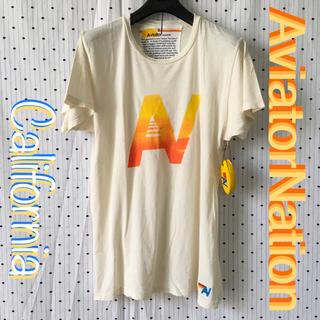ロンハーマン(Ron Herman)のAviatorNationアビエータネーション US限定 ANアイコン Tシャツ(サーフィン)