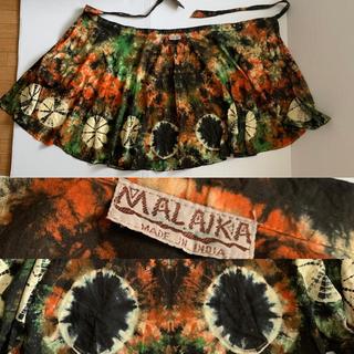 マライカ(MALAIKA)のマライカ★タイダイ巻きスカート Aライン (ロングスカート)