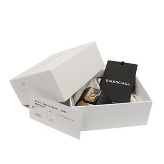 バレンシアガ(Balenciaga)のBALENCIAGA ブレスレット バングル ルディス レザー 黒 A2857(ブレスレット/バングル)