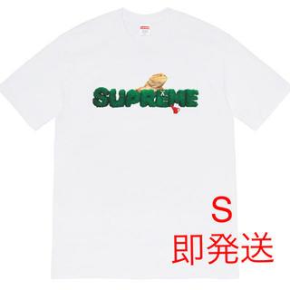 シュプリーム(Supreme)のSupreme Lizard Tee 白 S(Tシャツ/カットソー(半袖/袖なし))