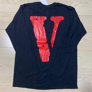 オフホワイト(OFF-WHITE)のVLONE ヴィローン ヴィーロン ロングTシャツ Lサイズ 新品 正規品(Tシャツ/カットソー(七分/長袖))