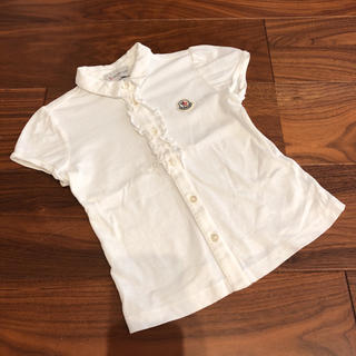 モンクレール(MONCLER)の【専用】モンクレール ポロシャツ 100cm(Tシャツ/カットソー)
