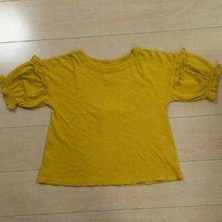 マーキーズ(MARKEY'S)の【土日限定】新品 140 ☆オーシャンアンドグラウンド  フリルスリーブTシャツ(Tシャツ/カットソー)