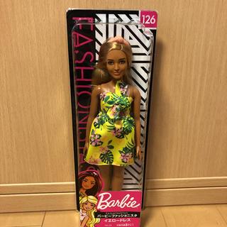 バービー(Barbie)のバービー ファッショニスタ イエロードレス(ぬいぐるみ/人形)