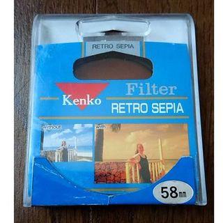 Kenko - 【カメラレンズフィルター】レトロ・セピア ~ケンコー~ 58mm