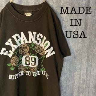 エクスパンション(EXPANSION)のEXPANSION NYC/ ストリート 半袖tシャツMADE IN USA(Tシャツ/カットソー(半袖/袖なし))