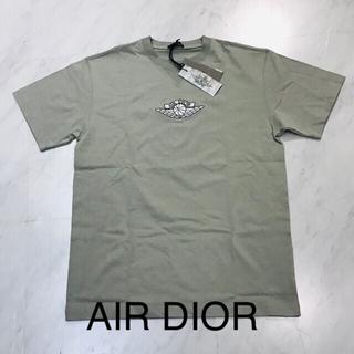 クリスチャンディオール(Christian Dior)のAIR DIOR エアディオール★ロゴTシャツ Mサイズ グレー(Tシャツ/カットソー(半袖/袖なし))