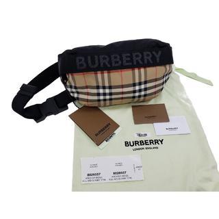BURBERRY - 新品!BURBERRY【バーバリー】 ヴィンテージチェック クロスボディバッグ