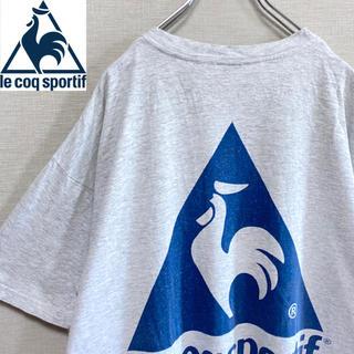 ルコックスポルティフ(le coq sportif)のle coq sportif 半袖ビッグTシャツ ビッグロゴ オーバーサイズ(Tシャツ/カットソー(半袖/袖なし))