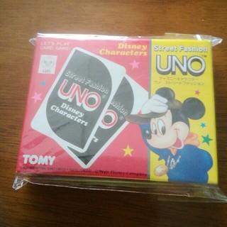 ディズニー(Disney)のウノ  ミッキーマウス  UNO   レア(トランプ/UNO)