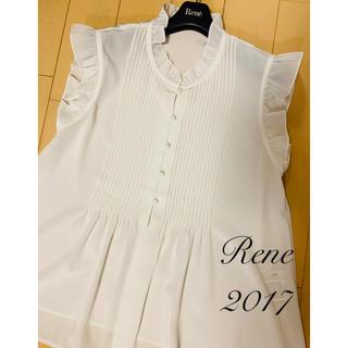 ルネ(René)のRene♡ 2017年 フリルブラウス(シャツ/ブラウス(半袖/袖なし))