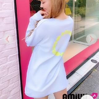 レディー(Rady)のネオンイエローロゴ ロンT(Tシャツ(長袖/七分))