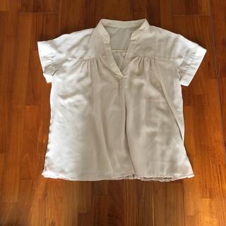 ドレスキップ(DRESKIP)のバックレースシャツ(シャツ/ブラウス(半袖/袖なし))