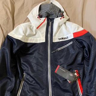 ヤマハ(ヤマハ)のクシタニ ヤマハ フルメッシュパーカージャケット M ネイビー (装備/装具)
