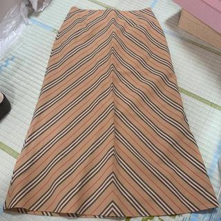 バーバリー(BURBERRY)のBurberryロングスカート20200722(ロングスカート)