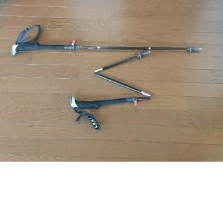 レキ(LEKI)のLEKI MICRO STICK 110 トレッキングポール(登山用品)