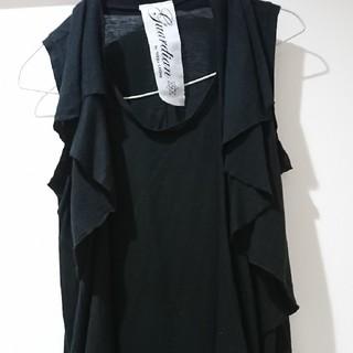 シエラレオン(SIERA LEONE)の変わり襟のキャミソール(シャツ/ブラウス(半袖/袖なし))