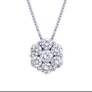 ヴァンドームアオヤマ(Vendome Aoyama)の新品同様 プラチナ 1ctダイヤモンド ネックレス (ネックレス)