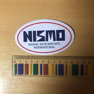 ニッサン(日産)のニスモ NISMO ステッカー 旧ロゴ スカイライン シルビア  R30 S13(車外アクセサリ)