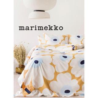 マリメッコ(marimekko)のmarimekko Unikko リネン デュベカバー セット【国内完売品】(シーツ/カバー)