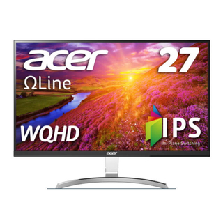 エイサー(Acer)のAcer RC271Usmidpx 27インチWQHD(2560 x 1440)(ディスプレイ)