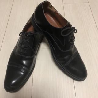 アルファキュービック(ALPHA CUBIC)のメンズ ビジネスシューズ 革靴 黒(ドレス/ビジネス)